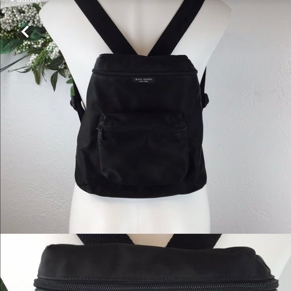 EUC Kate Spade Nylon mid size backpack